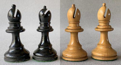 Will H. Lyons Tournament Size Staunton Chessmen