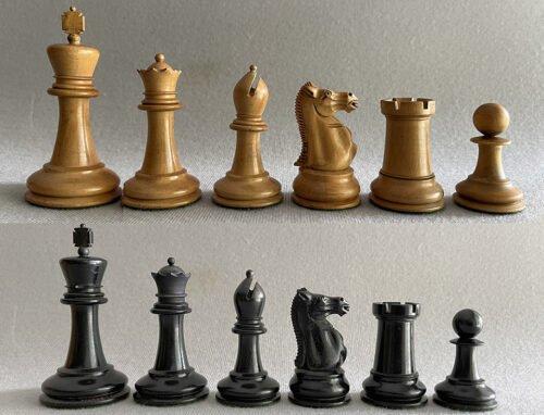 Antique Jaques Hartston Chessmen
