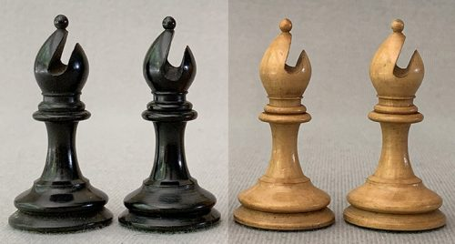 Jaques Zukertort Weighted Chessmen, Tournament Size