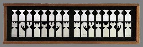 1966 Austin Enterprises Modernistic Chess Pieces