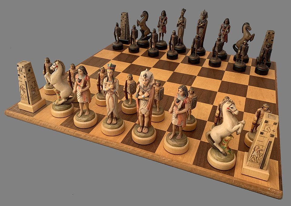 Anri Nefertiti Chess Set