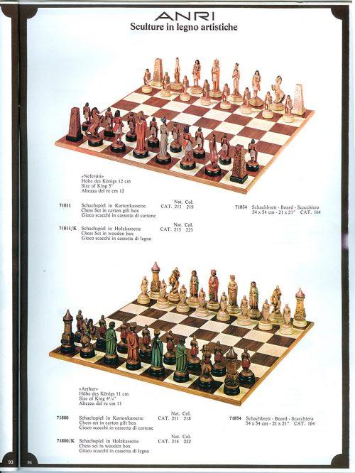 Anri Nefertiti Chess Set