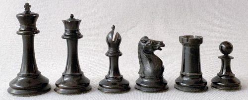 Jaques Late Anderssen Chessmen