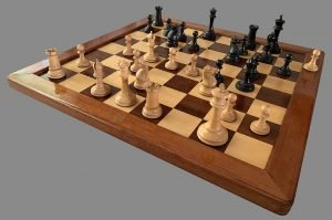 Jaques Late Anderssen Staunton Chessmen, Tournament Size, Circa 1863