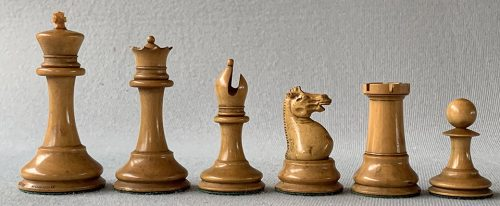Jaques Early Anderssen Drop Jaw Chessmen