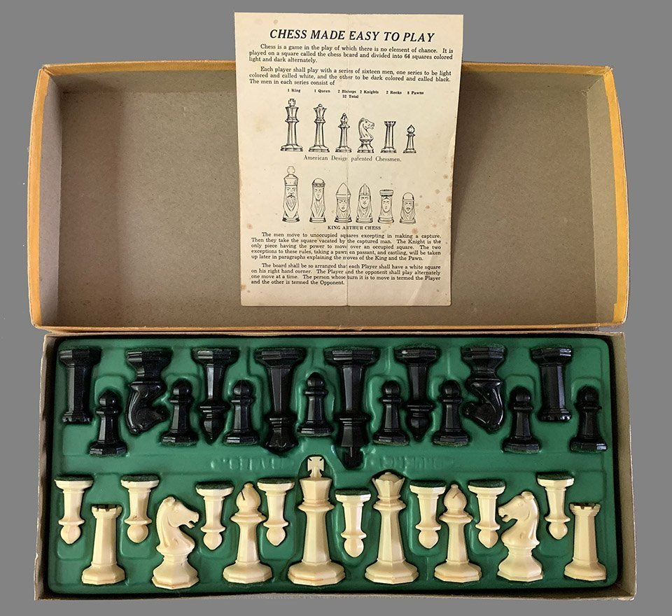 Drueke Octagonal Chessmen, No. 23