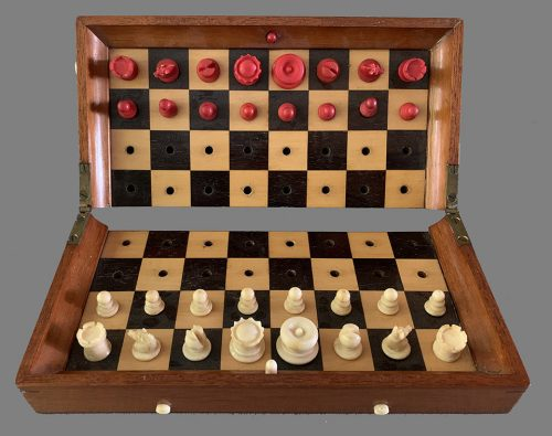 Jaques Type 1 Status Quo Chess Set