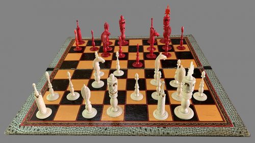 Antique Indo Burmese Chessmen, Type I