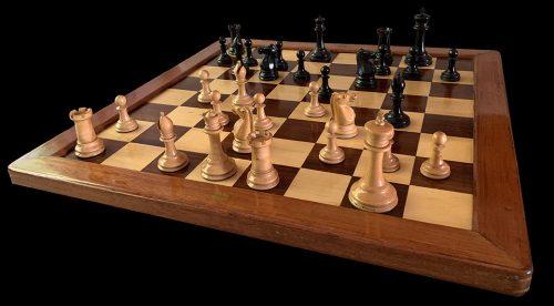 Jaques Pre-Zukertort Tournament Chessmen, Weighted