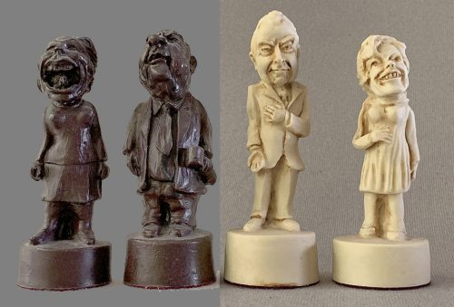 Watergate Political Chessmen by Mascot Direct