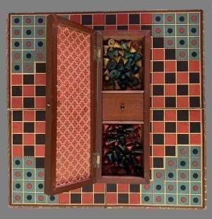 Halma and Cribbage Board