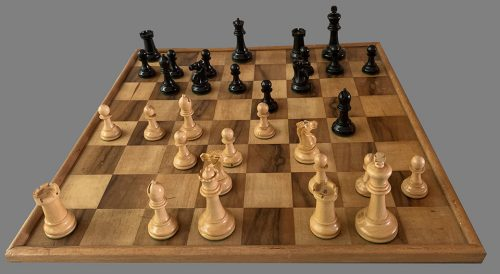 French Staunton Chessmen, Library Size