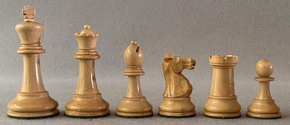 French Staunton Chessmen, Library Size