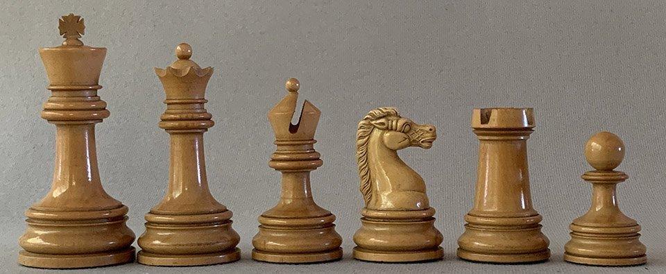British Chess Company Royal Staunton Chessmen,Club Size