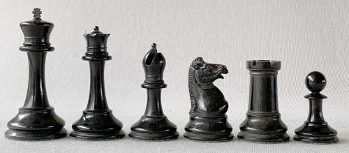 Jaques Early Anderssen Chess Set, Tournament Size