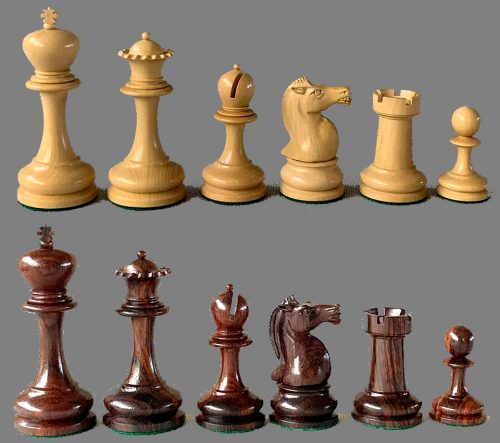 Cambridge Springs Staunton Chessmen