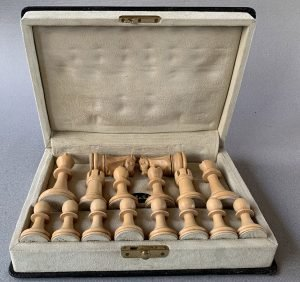 Jaques Fischer Spassky Chess Set