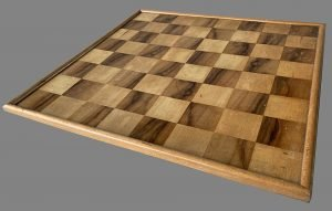 Small Antique Wooden Chessboard
