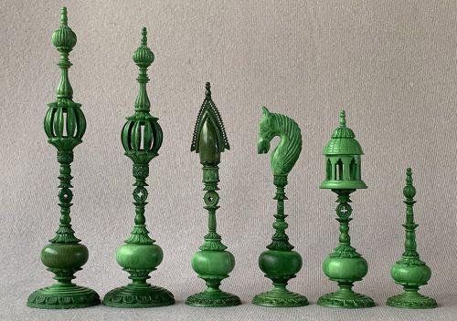 Large Vizagapatam Chessmen