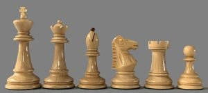 Skopje 1972 Olympiad Chessmen Reproduction