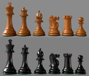 Reproduction British Chess Company Popular Chessmen