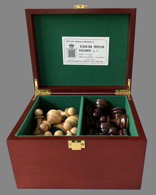 Reproduction British Chess Company Popular Chessmen