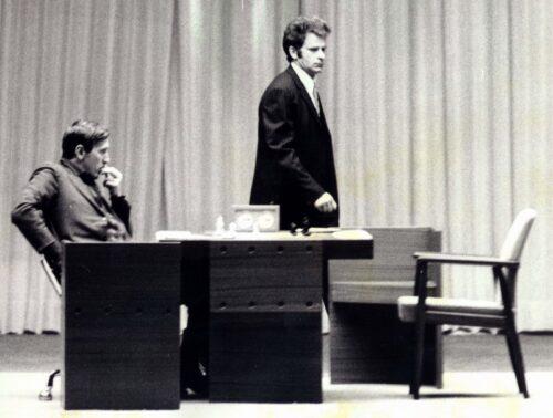 1972 Fischer Spassky Chess Pieces