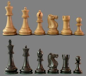 Fischer Spassky Chess Pieces