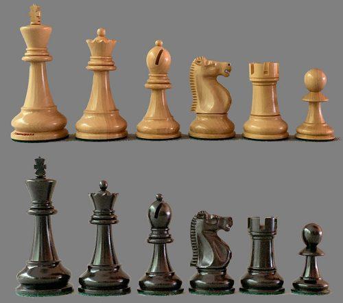 Fischer Spassky Chess Pieces