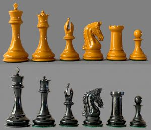 Goldenrod Imperial Collector Chessmen