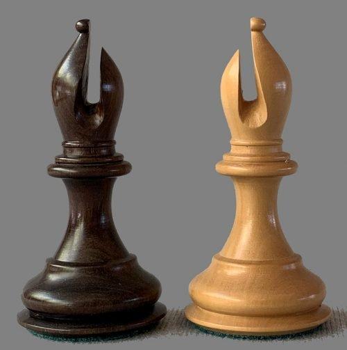 House of Staunton Red Sandalwood Imperial Chessmen
