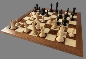 1849 Selene Imperial Staunton Chessmen