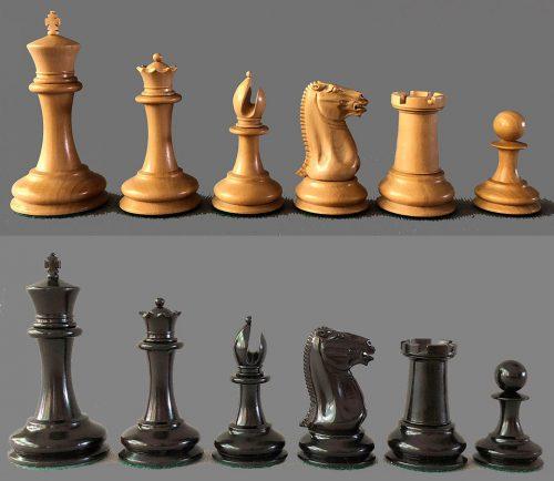 Reproduction Cooke Style Staunton Chessmen