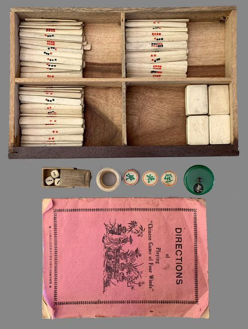Vintage Premium Mahjong Set