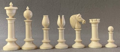 Jaques Northern Upright Chessmen