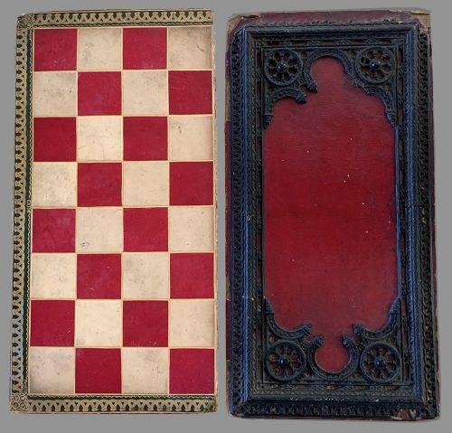 Carton-Pierre Chessboard