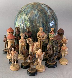 Anri Monsalvat Chessmen
