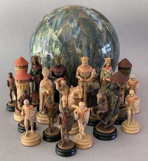 Anri Montsalvat Chessmen