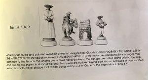 Anri Caribbean Chessmen
