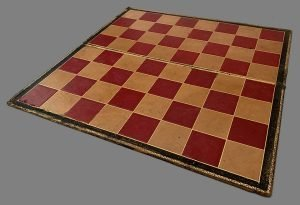 Lot #715. Large Antique Folding Chessboard