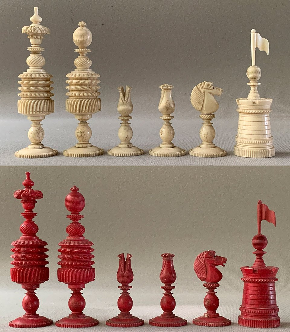 Type II Large English Barleycorn Chessmen