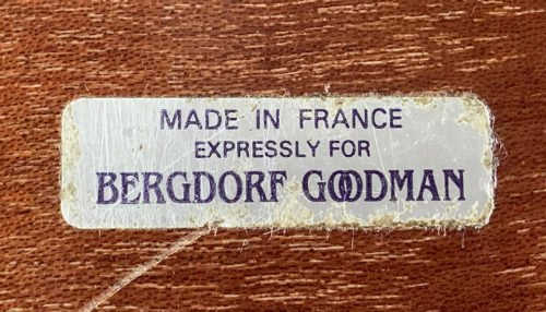 Bergdorf and Goodman Label