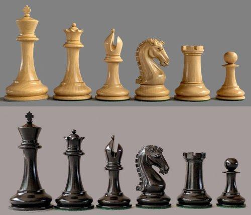 Sinquefield Cup Commemorative Chessmen
