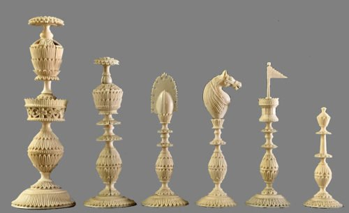 Antique Berhampur Chess Set