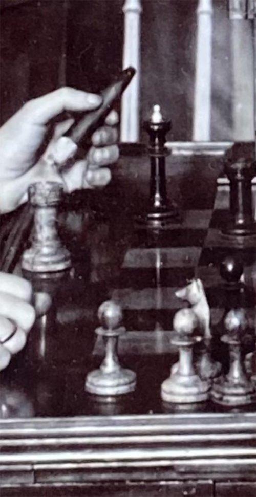 St. Petersburg 1914 Chessmen