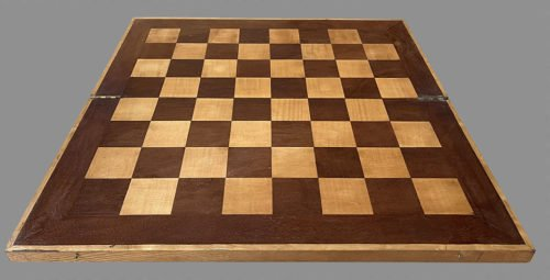 Sycamore and Bloodwood Folding Chessboard