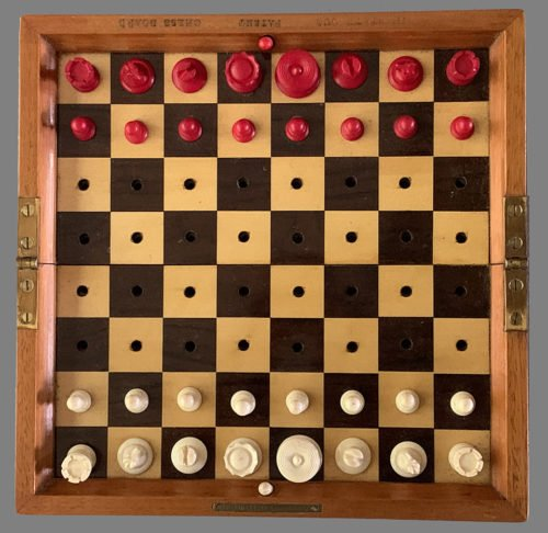 Jaques Status Quo Chess Set, Type 1A