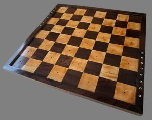 Large Antique Seaworthy Chessboard