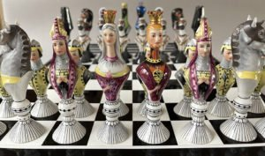 Vista Alegre Chess Set