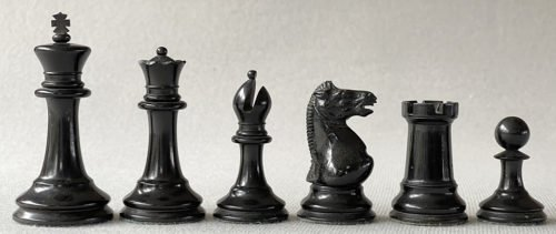 Library Size Anderssen Chessmen
